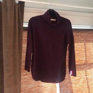 Cynthia Rowley - purple cashmere tunic
